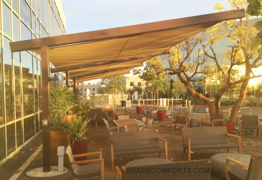 Cantilever Patio Shade Structure San Diego