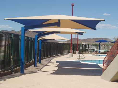 Cantilever Shade Umbrellas