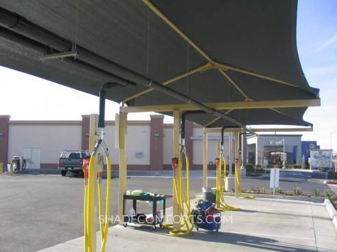 & Detailing Shade Canopy At Sacramento Car Wash