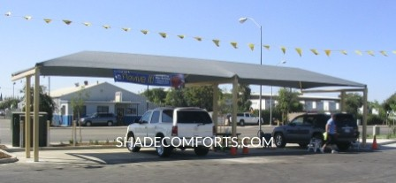 Car Wash Shade Canopy