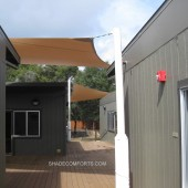 Shade Sails and Canopies Cover Day Care Center