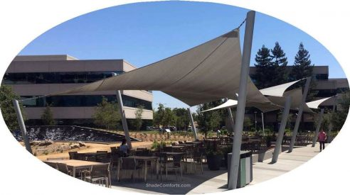 Tensioned Fabric Shade Structures
