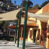 Commercial Shade Sails Contractor Marin County