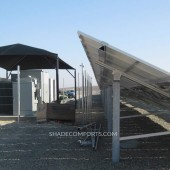 Fabric Canopy Tops Solar Electrical Equipment