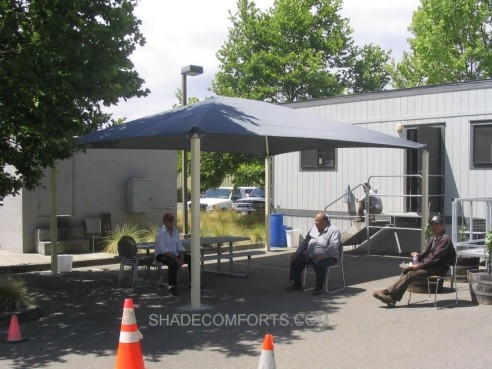 & Free Standing Canopy Shades NorCAL Workers