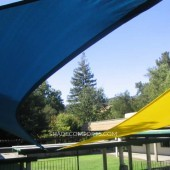Shade Sail Awnings Cool Contra Costa Patio