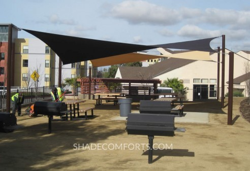Fabric Shade Sails Cover