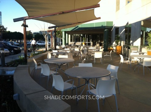 Fabric Shade Structure Patio Cantilever