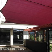 Awning Shade Sails Cover NorCAL Restaurant Patio