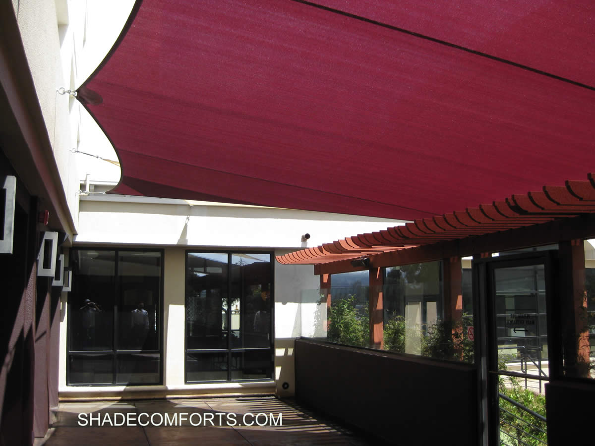 shade sails installer canopy contractor california builder