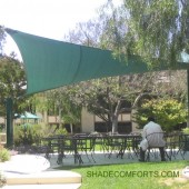 Tensile Shade Structure Cools NorCAL Courtyard