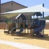 Custom Shade Sails Shelter NorCAL Playground