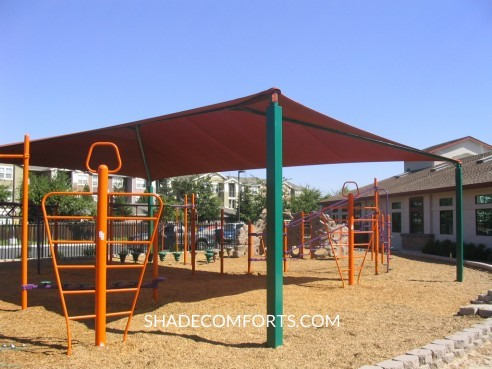 Playground_Shade_Canopy_California & Custom Shade Canopy - Commercial California - Fabric - Patio