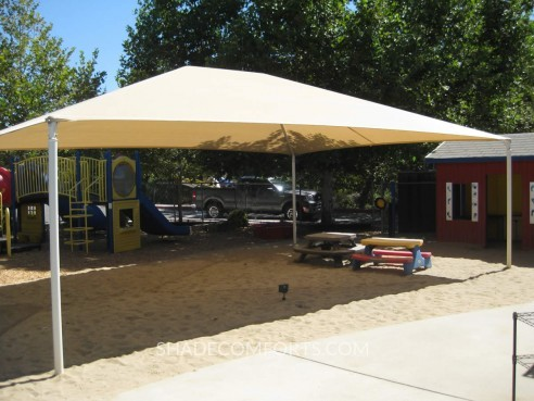 Fixed Shade Canopy Mesh Fabric Net Replacment NorCAL