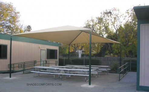 School-Lunch-Patio-Shade-Canopy & Shade Canopies For NorCAL School Playgrounds