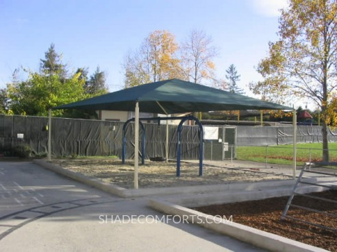 & Shade Canopies For NorCAL School Playgrounds