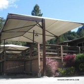 Shade Structures Cover Wood Deck| Santa Cruz Terrace