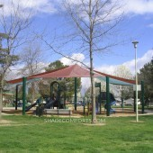 Shade Sails Cover California Park Playground