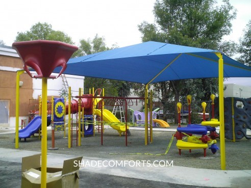 Shade Canopy California School
