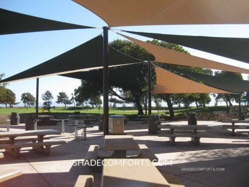 Shade Sails California Patio