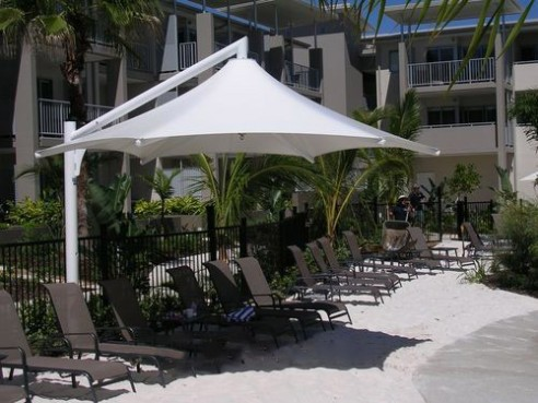 Shade Umbrella Cantilever