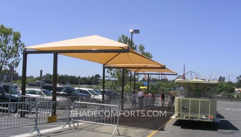 Tram Shade Structure