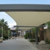 Walkway Covers – Courtyard Shade Sail – Outdoor Canopy – California