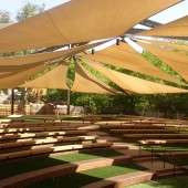 Amphitheater Shade Sails 13