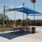 Architectural Membrane Shade Canopy 6