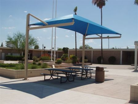This ... & Patio Shade Sail and Canopy Structures - Commercial California