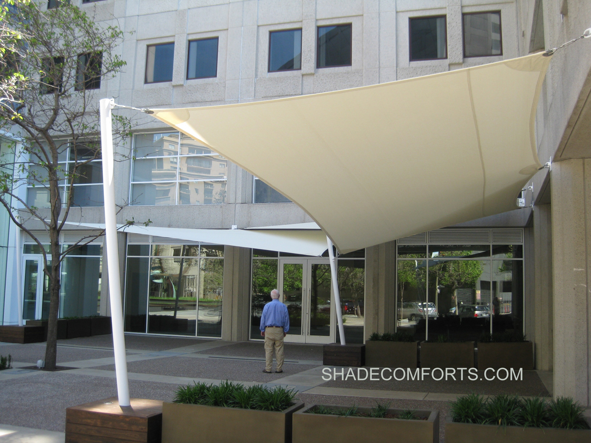Sail awnings for patio - Home