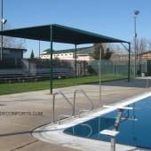 Bleacher Shade Structure Placer County School