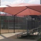 bleacher shade structures 3