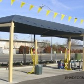 California Semi Cantilever Shade Structure 15