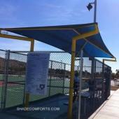 Canopy Shade Dugout Baseball Softball