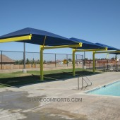 Cantilevered Shade Canopy Structures – Commercial – California