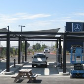 These ... & Car Wash Shade Structures - Auto Detailing Canopy - California