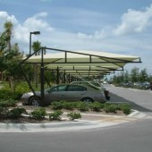 Carport Fabric Shade Structure 16