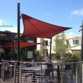 commercial shade sails contractor napa