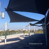 Patio Shade Sail and Canopy Structures – Commercial California