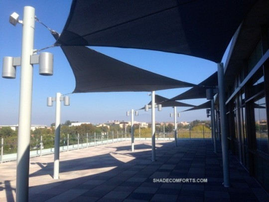 Commercial Shade Sails Orange County CA Roof