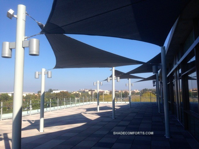 - Patio Shade Sail And Canopy Structures - Commercial California