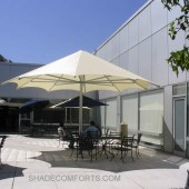 Architectural Shade Umbrellas Cool NorCAL Patio