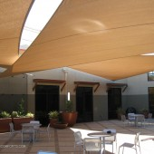 Courtyard Shade Sails 24