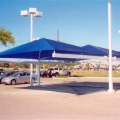 Covered Paking Shade Canopy 8