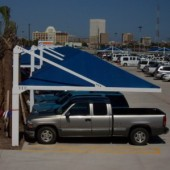 Covered Parking Fabric Shade Structure 4