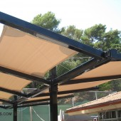 Custom Shade Structure Los Angeles Patio 36