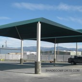 Commercial Storage Canopy At CA Manufacturer