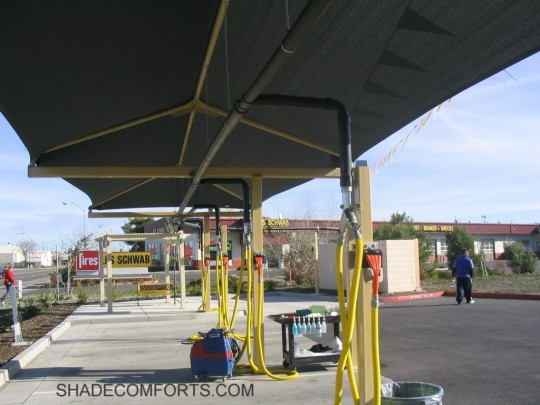 & NorCAL Cantilevered Car Detailing Canopy 8