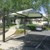 NorCal Cantilevered Shade Shelter 12